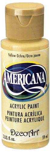 DecoArt Americana Acrylic 2 Ounce Yellow