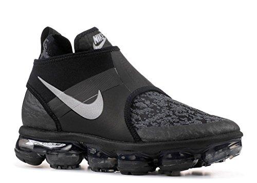 Nike Air Vapormax Chukka Slip - US 9 Black/Metallic Silver