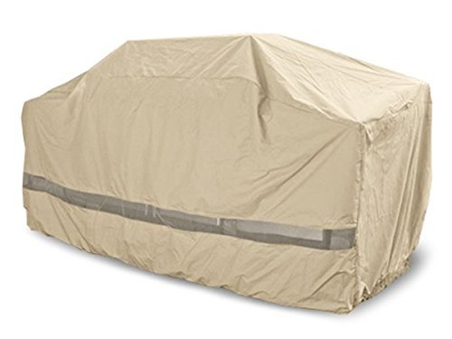 CoverMates – Island Grill Cover – 110W x 44D x 48H – Elite Collection – 3 YR Warranty – Year Around Protection - Khaki