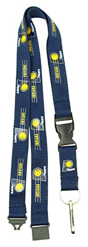 Indiana Pacers Nba Car - NBA Indiana Pacers Team Color Lanyard, 22-inches, Blue
