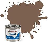Humbrol Enamel Paint Tinlet 14ml Matt Dark Earth (29)