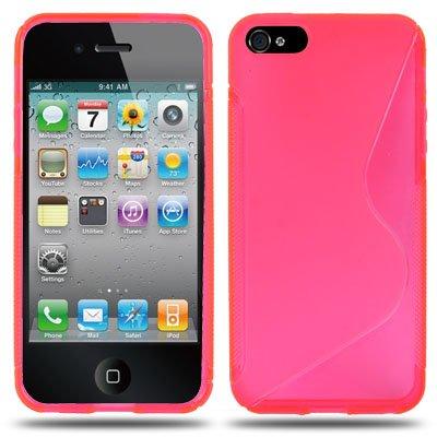 iPhone 5 / 5S Hülle in pink / rosa aus Silikon -Original nur von THESMARTGUARD-