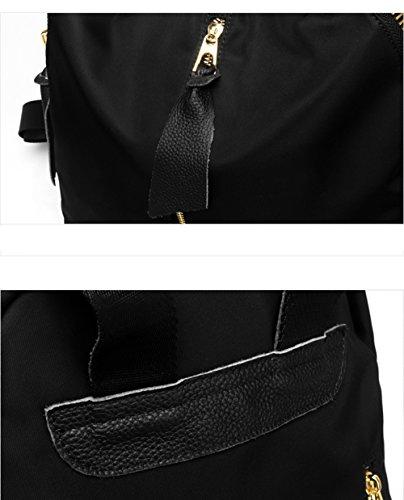 Borsa coreana del sacchetto di spalla del panno del Oxford della Corea / signore grande zaino di cuoio semplice della luce di capacità /