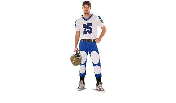 Disfraz de Quarterback o Jugador Rugby para hombre: Amazon.es ...