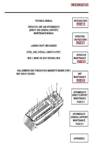 Us Navy Lcm Landing Craft - 9