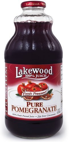 Lakewood Pure Pomegranate Juice 32-Ounce Bottles - Pack Of 1