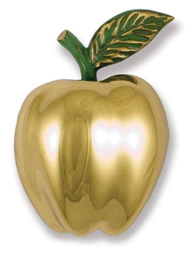 Delicieux Michael Healy Designs MH1251 Golden Delicious Apple Door Knocker, Brass
