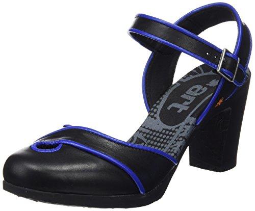 De Kunst Van Vrouwen 0269 Ster Rio Sandalen Met Enkelbandje Zwart (black)