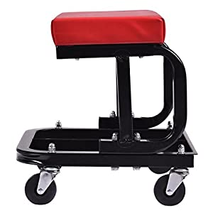 Rolling Creeper Seat Mechanic Stool Chair Repair Tools Tray Shop Auto Car Garage.,Storage Box Rack Holder,Toolbox