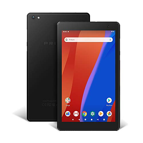 Pritom 7 inch Tablet – Android 8.1 Oreo Go Tablet PC with 32 GB Storage, Quad Core Processor, HD IPS Display, Dual Cameras, WiFi, Bluetooth – Android Tablet, Black