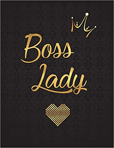 Boss Lady Lined Journal Notebook Diary With 110 Inspirational