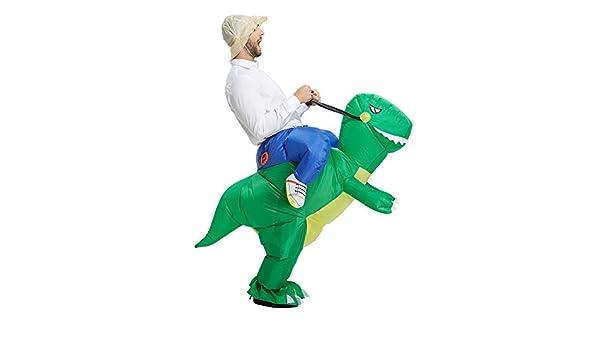 Yonji Disfraz Hinchable de Dinosaurio Halloween, Disfraces ...