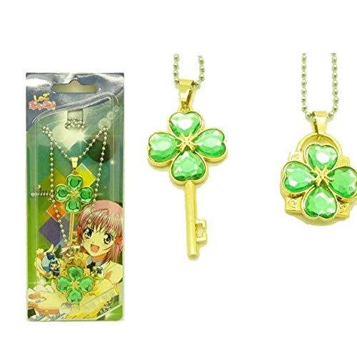(Weeck Anime Shugo Chara Key Lock Pendant Necklace Party Gift (3))