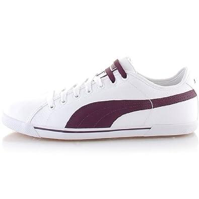 chaussures de sport 9af97 48166 Puma Benicio Homme Chaussures De Sport En Cuir Baskets A ...