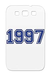 1997 Dirtproof Navy Birthday Birthdays Holidays Occasions Case Cover For Sumsang Galaxy S3