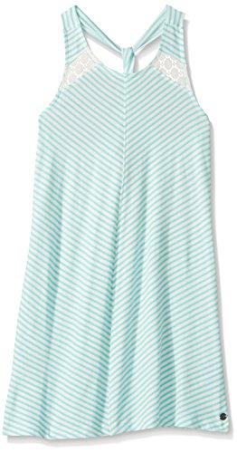Roxy Girls' Big Snow Knit Dress, Bermuda Classic Stripe, 16