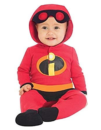 Halloween Costume 6 9 Months Uk.Baby Official Disney The Incredibles Jack Jack Superhero Halloween Fancy Dress Costume Outfit 0 12months 6 9 Months