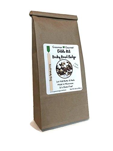 Grassman Gourmet Edible Kit, Rocky Road Fudge, 2 Pack