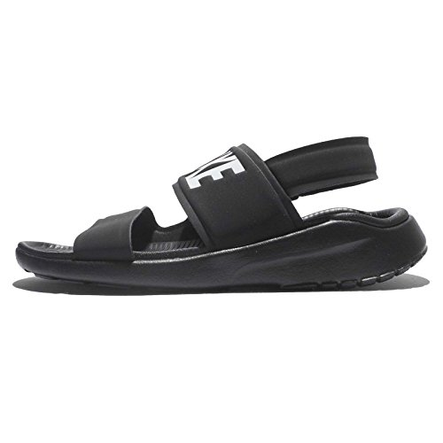 NIKE Tanjun Womens Sandal Black/White/Black 882694-001 (8 B(M) (Nike Lightweight Sandals)