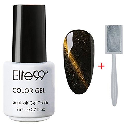 Elite99 Soak Off 3D Magnetic Cat Eye Gel Polish UV LED Nail