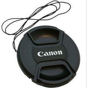 WishBox 58/mm Snap-On Centro Pinch Tapa de Objetivo para Canon Lente