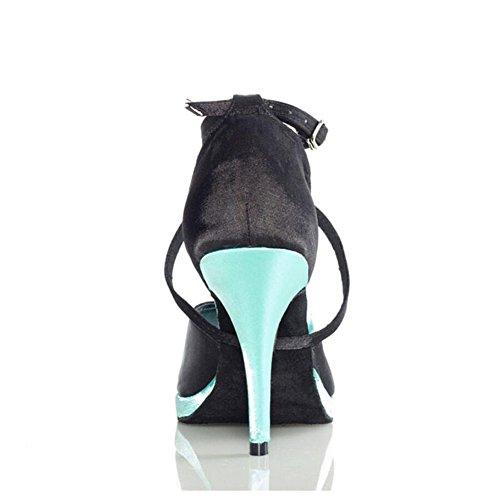 Sera 38 Ballo Xue Mare Dimensione Nastro Sandalo colore E Un scarpe A Di pratica Donna Partito Tacco Fibbia Performance Seta cravatta Un Blu Scarpe Latino Da sneaker qXcwX4HC