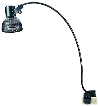 Cal Lighting BO 6123 BK Clamp On Display Artwork Light Fixture In Black