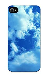 Catenaryoi Cute VtcKLfc2354VZZFu White Clouds And Blue Sky Case Cover Design For Iphone 5/5s