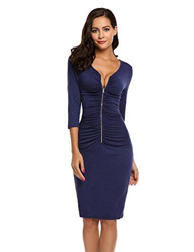 Zip Sleeve Dress - 8