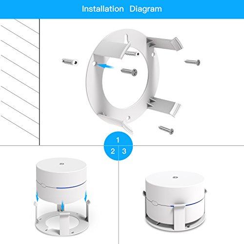 Myriann Wall Mount Holder Wall Mount Stand Ceiling Bracket (2 Pack)For Google Wifi , White