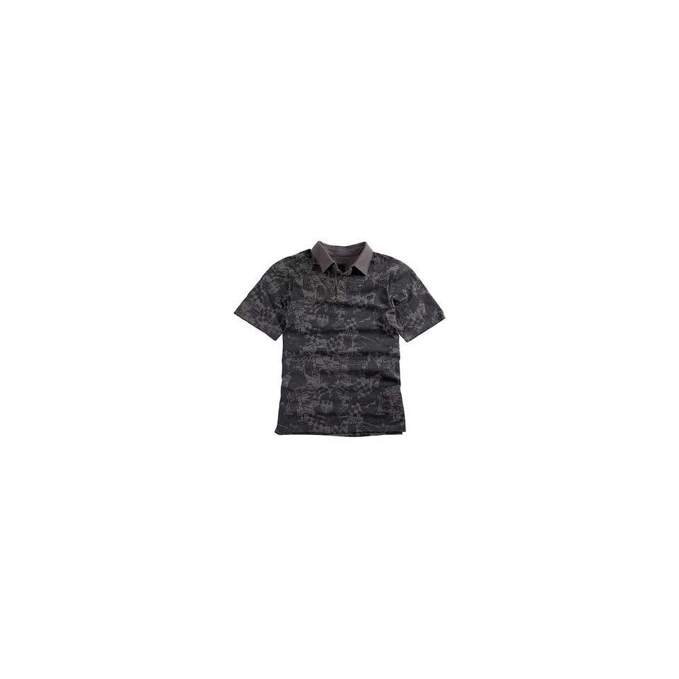 Fox Racing Wasteland Polo   Small/Graphite