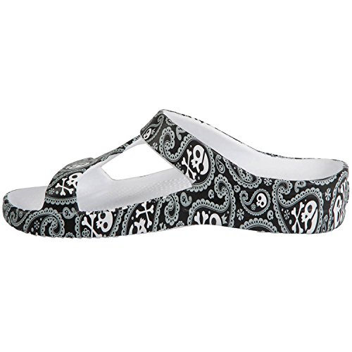 Dawgs Womens Arch Support Loudmouth Z Sandals Shiver Me Legnami