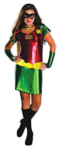 UHC Batman Robin Tween Girl's Batman Movie Theme Fancy Dress Halloween Costume, Tween M (2-4) ()