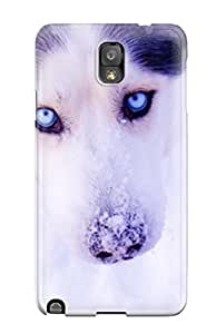 PbfkaVT6122jYUHN Anti-scratch Case Cover ZippyDoritEduard Protective Cute Husky Case For Galaxy Note 3