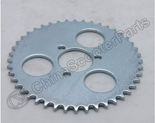 44 Tooth 44T T8F 29MM Rear Sprocket Razor EVO X-Treme IZIP E Gas Scooter 47CC 49CC Mini Moto ATV ()