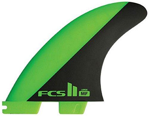 FCS II MF Mick Fanning PC Large Surfboard Tri 3 Fin Set by FCS