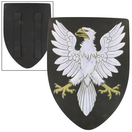 Glorious Noble Great Eagle Foam LARP Kite Training Shield (Medieval Foam Larp Shield)