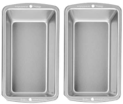 (Wilton Recipe Right Large Loaf Pan, Pack of 2 Pans)