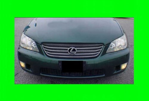 312 Motoring fits 2001-2005 LEXUS IS300 IS 300 CHROME GRILL GRILLE KIT 2002 2003 2004 01 02 03 04 05 SPORT ()