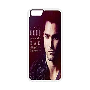 Bloomingbluerose Teen Wolf IPhone 6 Plus Case Teen Wolf Quotes a Very Good Person Who Bad Thing Have Happened to for Women, 5.5 Inches Case for Iphone 6 Plus Apple for Women [White]