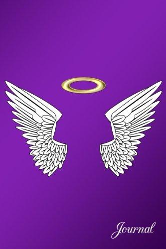 Journal: Purple angel wings notebook (Angel Diary)