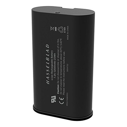 Hasselblad H-3054752 X1D Camera Rechargeable Battery 3200 mAh, Black by Hasselblad