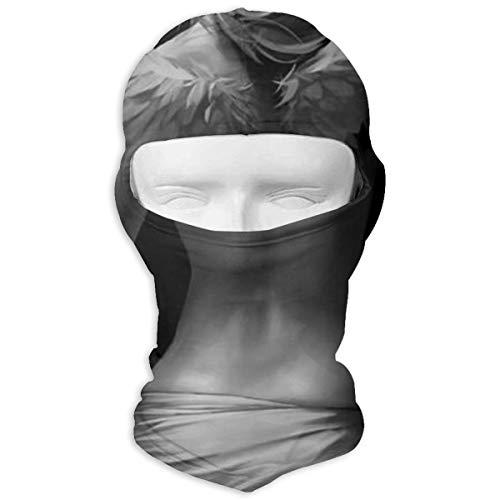 Rainbow Magnet Angel Wine Girl Balaclava - Windproof Ski Mask - Motorcycle Full Face UV Protection Mask