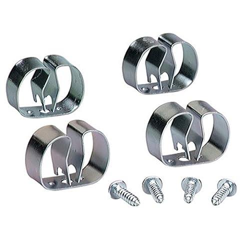 Lehigh 13201 Grip Clip Organizer, Silver, Medium