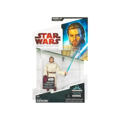 "Star Wars Legacy Collection 3 3/4"" Obi-Wan Kenobi Action Figure BD13"