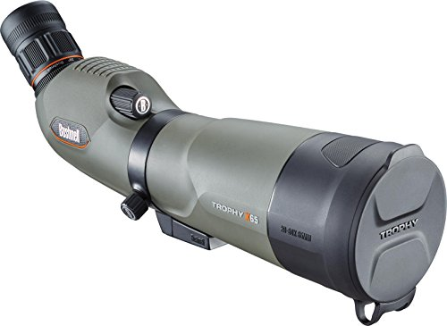 Review Bushnell Trophy Xtreme Spotting Scope with 45 Degree Eyepiece, 20-60x65mm, Green