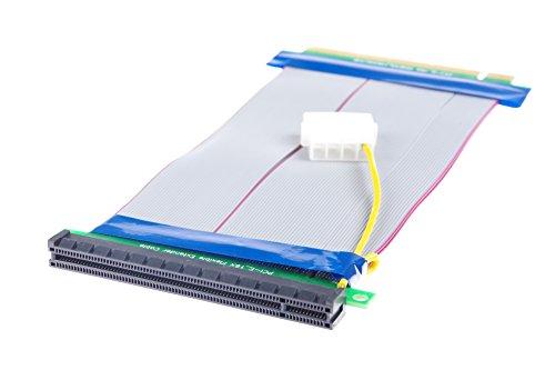 KNACRO PCI-E 16X Extension Cable 164-Pin Graphics Extension Cable External 12V Power Supply by KNACRO (Image #2)