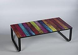 Stella Trading Table Basse Simple 16791 Motif Arc-en-Ciel