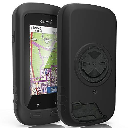 TUSITA Case for Garmin Edge Explore 1000, Approach G8 – Silicone Protective Cover – GPS Bike Computer Accessories (Black…
