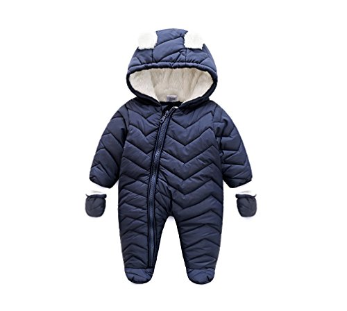Come rain or shine, your little one will need protection from the elements. Our baby boys coats and pramsuits come in fun, bright colours and a range of designs. Pop any of them on over some of our great value baby clothes, and your little monster will be snug – and dry – as a bug.